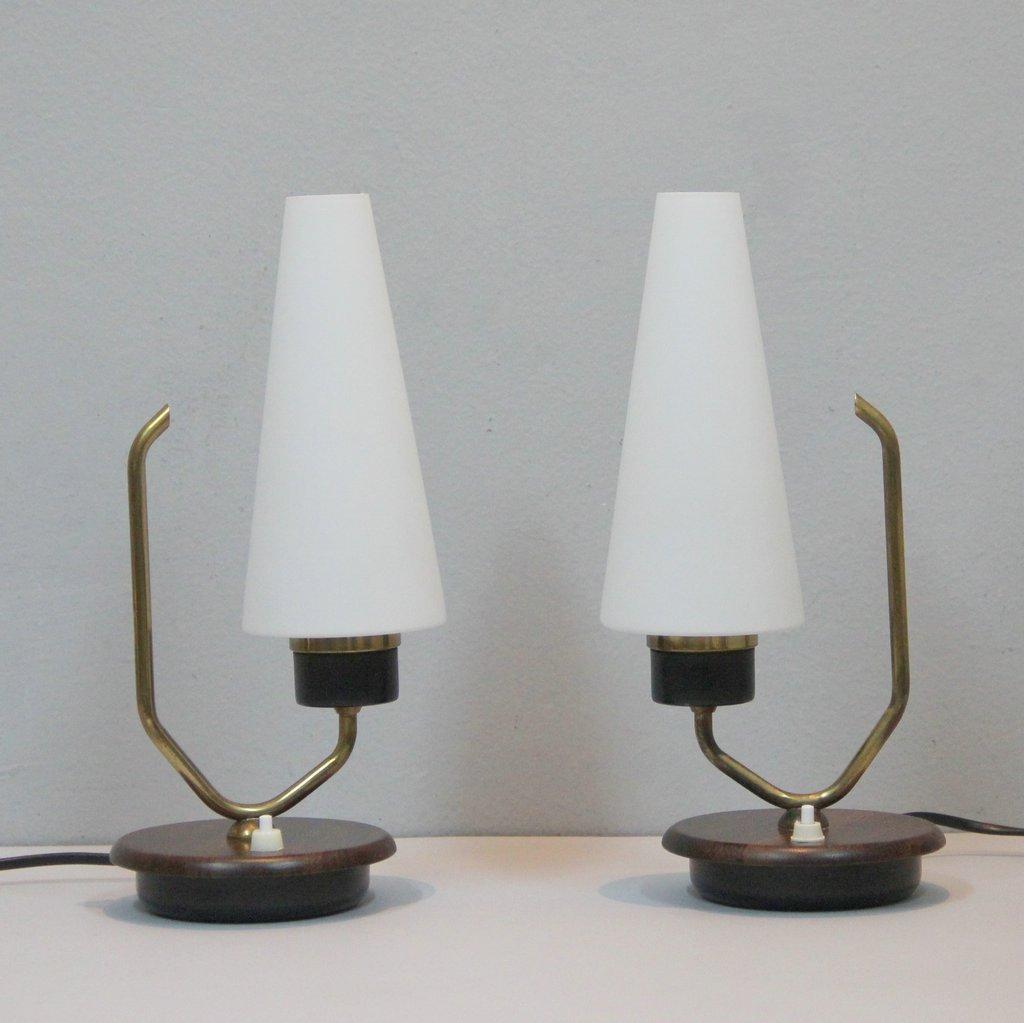 Dänische Tischlampen, 2er Set