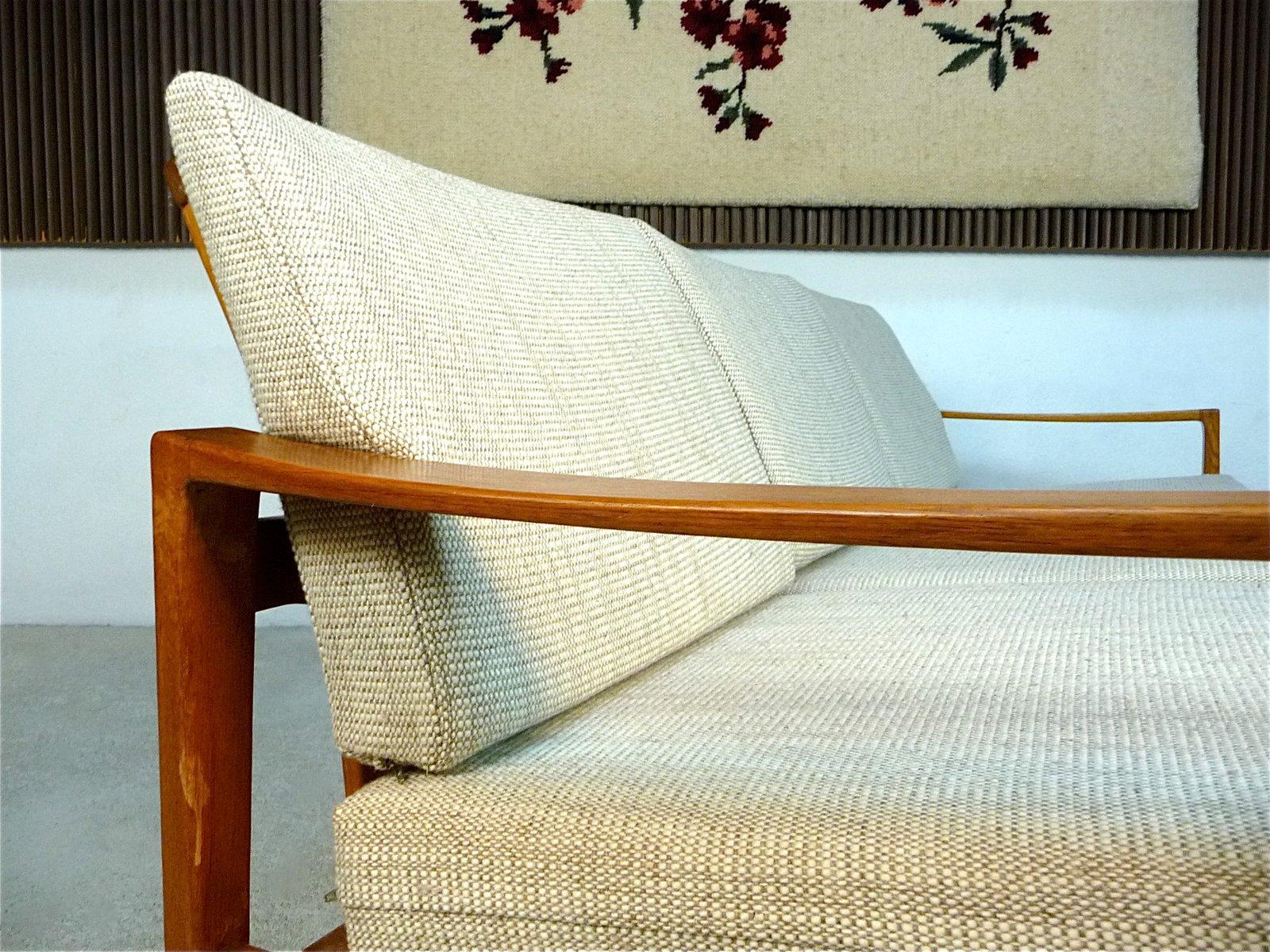 canap trois places mid century de wk wohnen allemagne. Black Bedroom Furniture Sets. Home Design Ideas