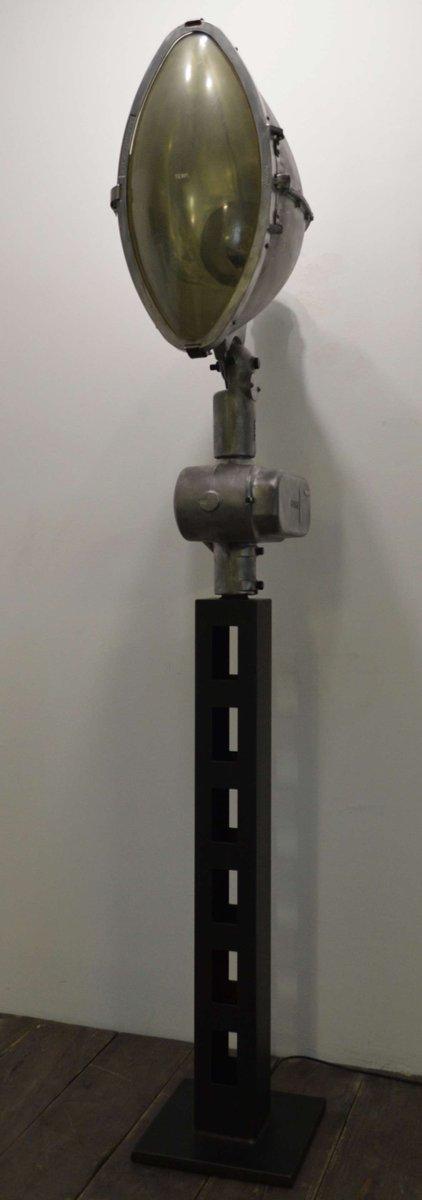 Industrieller Vintage Scheinwerfer von Revere