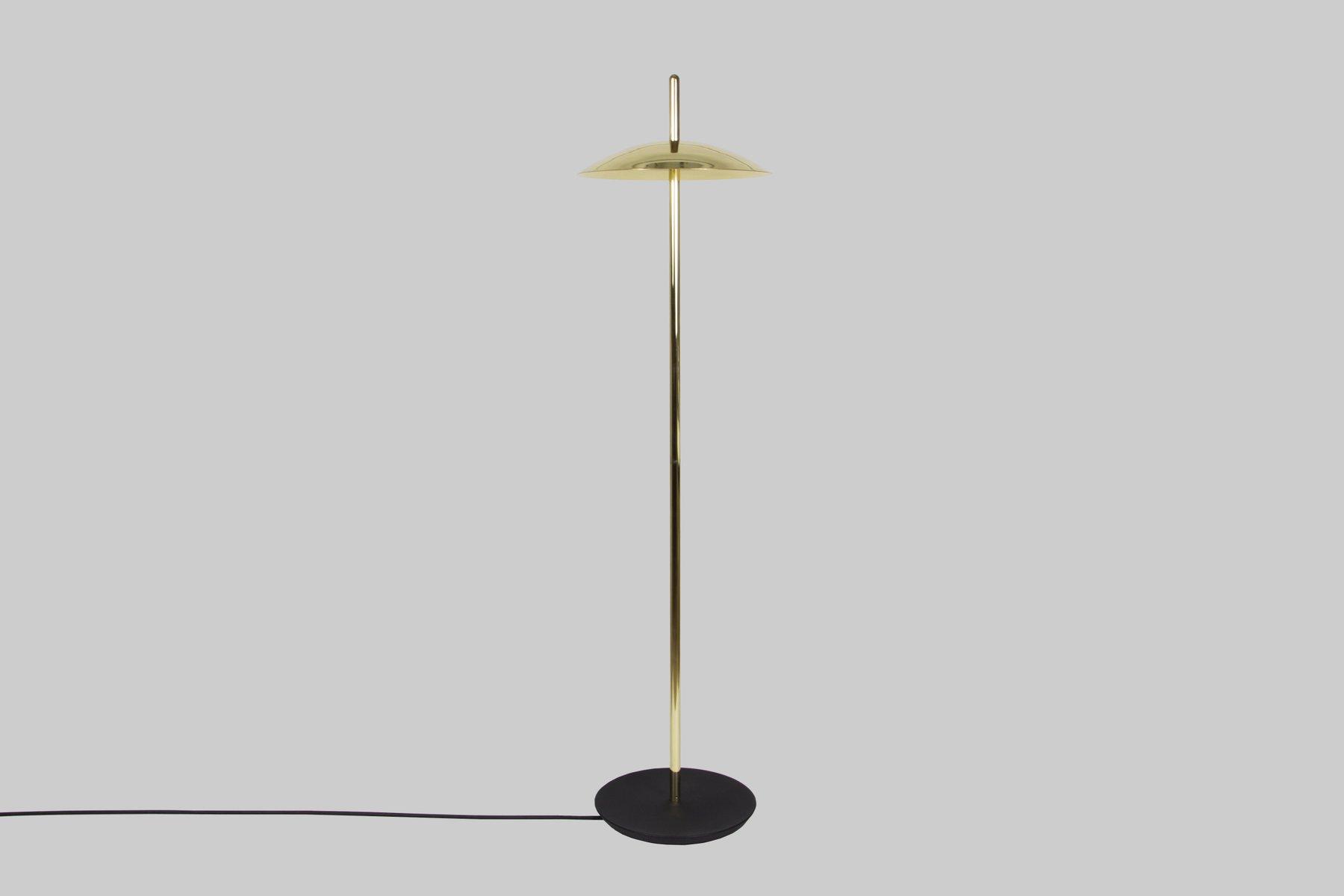 Signal Stehlampe aus Messing von Shaun Kasperbauer für Souda