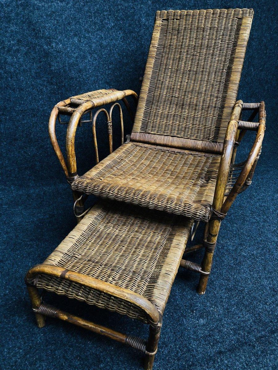 Vintage Bauhaus Stuhl Aus Rattan Von Erich Dieckmann 1920er Bei Pamono Kaufen