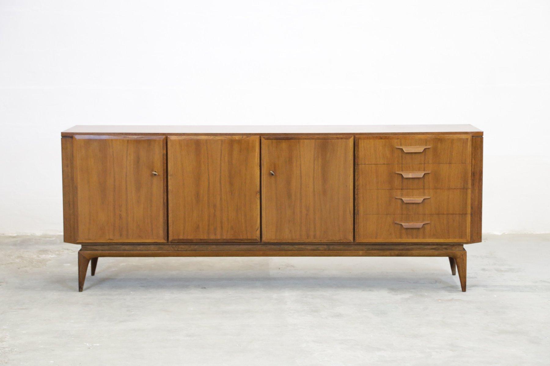 Schweizer Midcentury Palisander Sideboard, 1960er