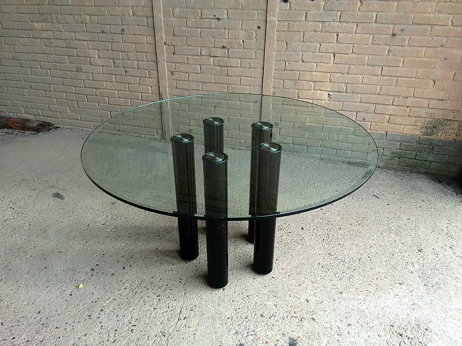 Glass dining table by marco zanuso for zanotta 1979 for sale at pamono glass dining table by marco zanuso for zanotta 1979 keyboard keysfo Images