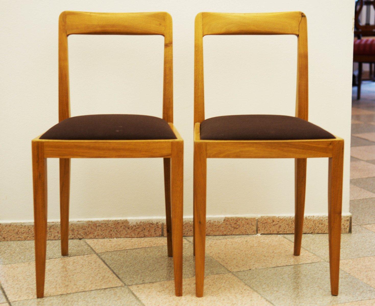 sterreichische st hle von julius jirasek f r werkst tten hagenauer bei pamono kaufen. Black Bedroom Furniture Sets. Home Design Ideas