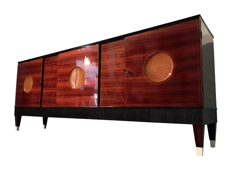 Italienisches Mid-Century Palisander Sideboard, 1950er