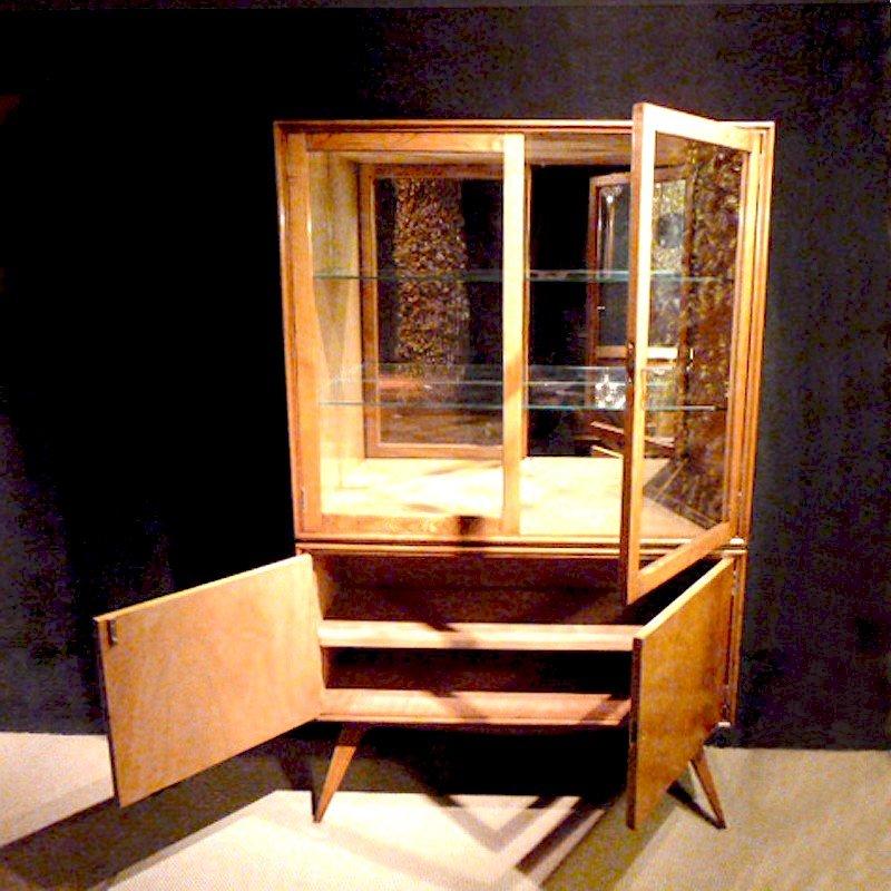 vintage vitrine spanien 1950er bei pamono kaufen. Black Bedroom Furniture Sets. Home Design Ideas