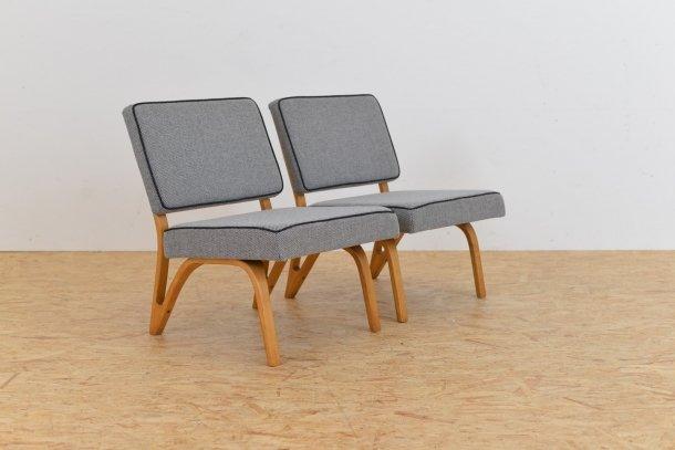 vintage sessel von paul bode f r deutsche federholzgesellschaft 2er set bei pamono kaufen. Black Bedroom Furniture Sets. Home Design Ideas