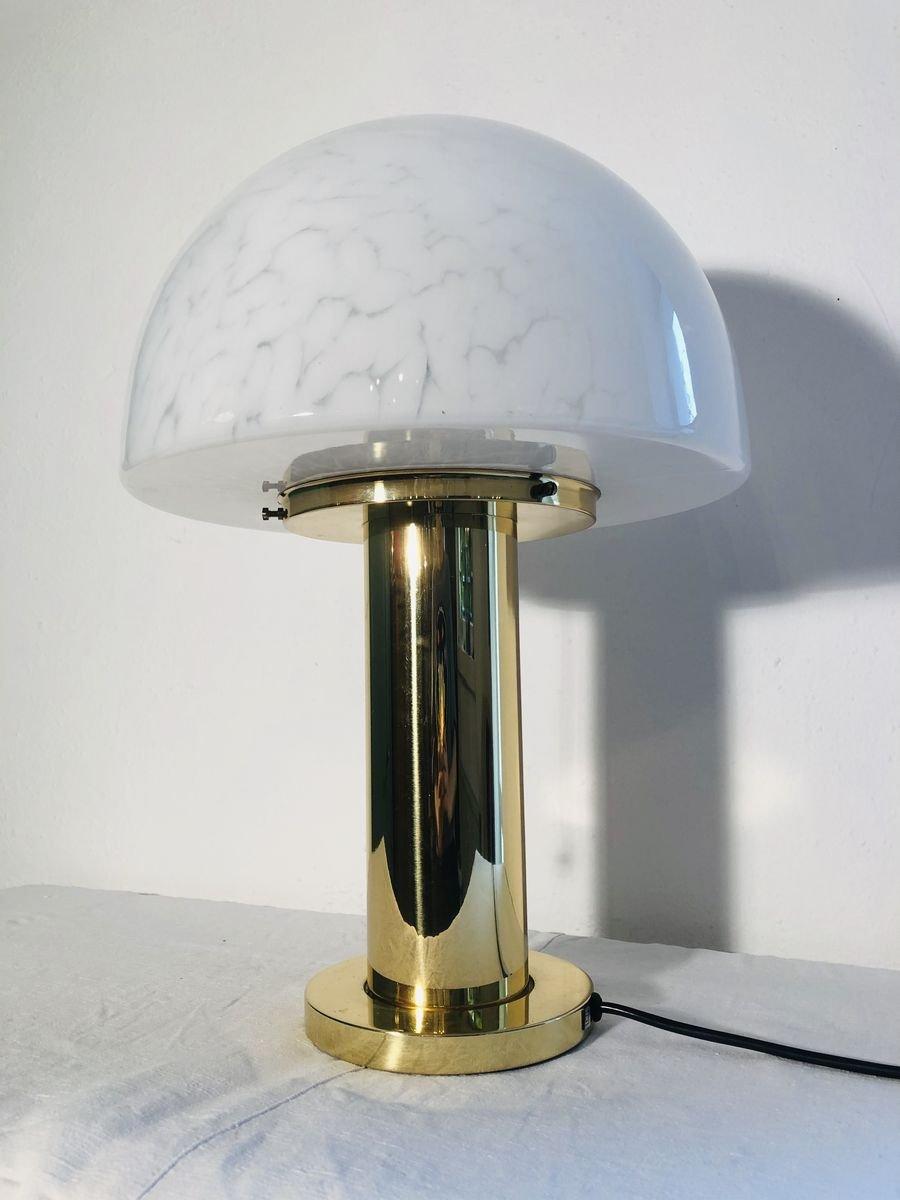 Mushroom lamp Vintage desk lamp Small metal table lamp Reading lamp Night light lamp Mid century desk lamp 60s lighting