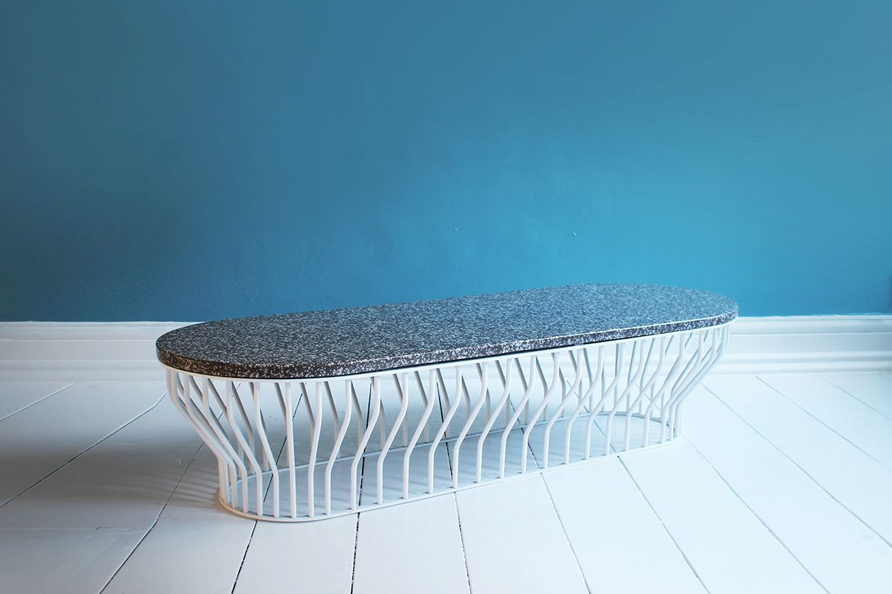gro er beads tisch bei pamono kaufen. Black Bedroom Furniture Sets. Home Design Ideas