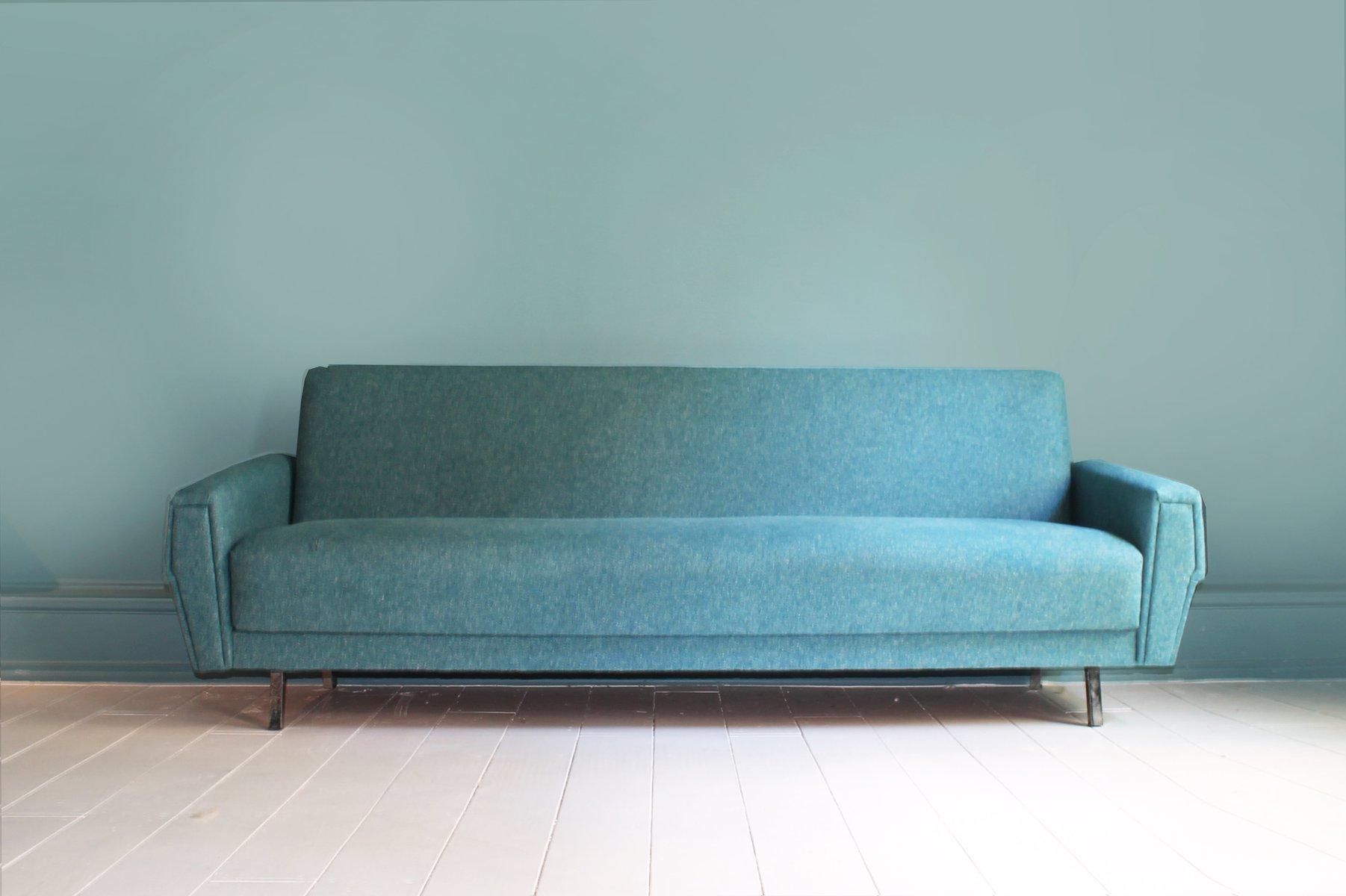 d nisches vintage sofa mit umweltvertr glichem bezug bei pamono kaufen. Black Bedroom Furniture Sets. Home Design Ideas