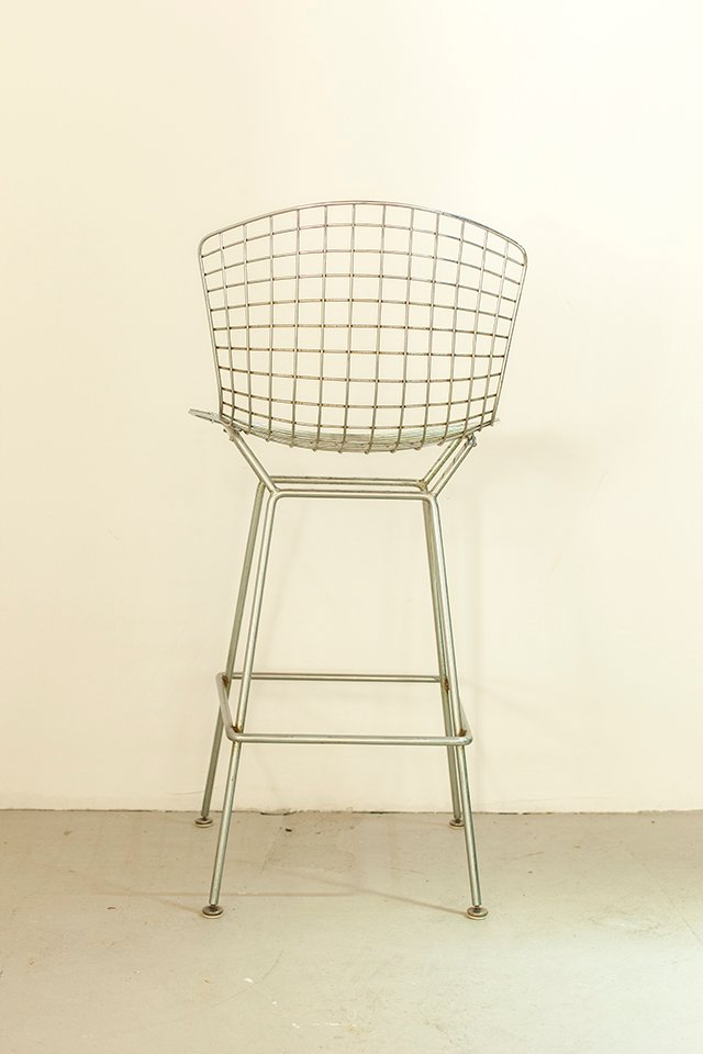 Tabouret De Bar Par Harry Bertoia Pour Knoll International