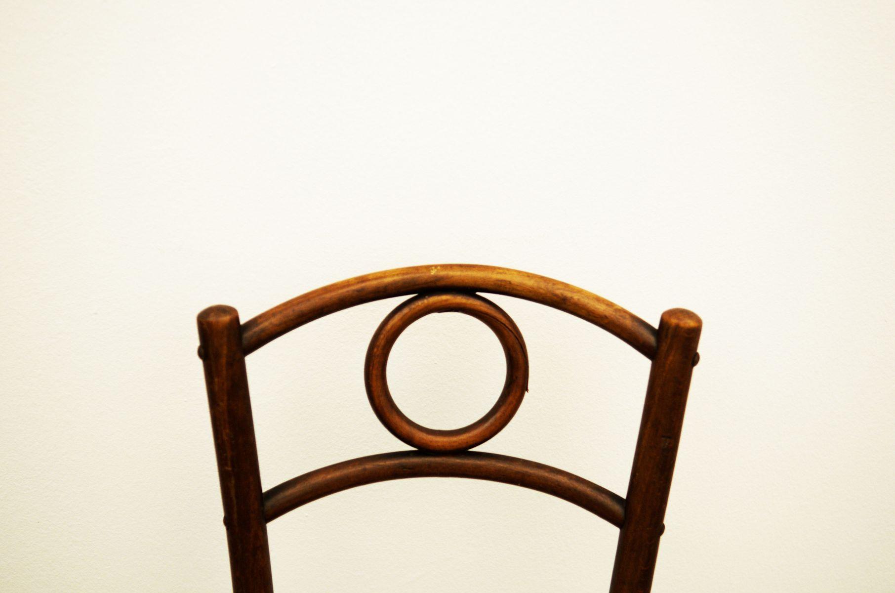 chaise d 39 appoint en bois courb autriche en vente sur pamono. Black Bedroom Furniture Sets. Home Design Ideas