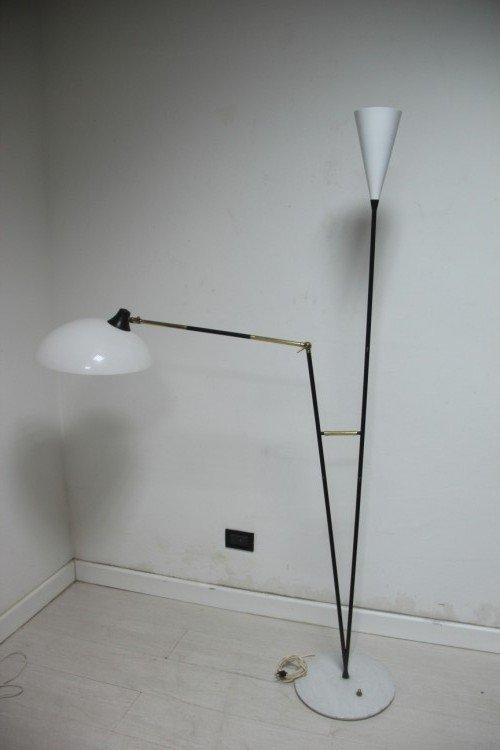 Italienische Mid Century Stehlampe von Stilux Milano