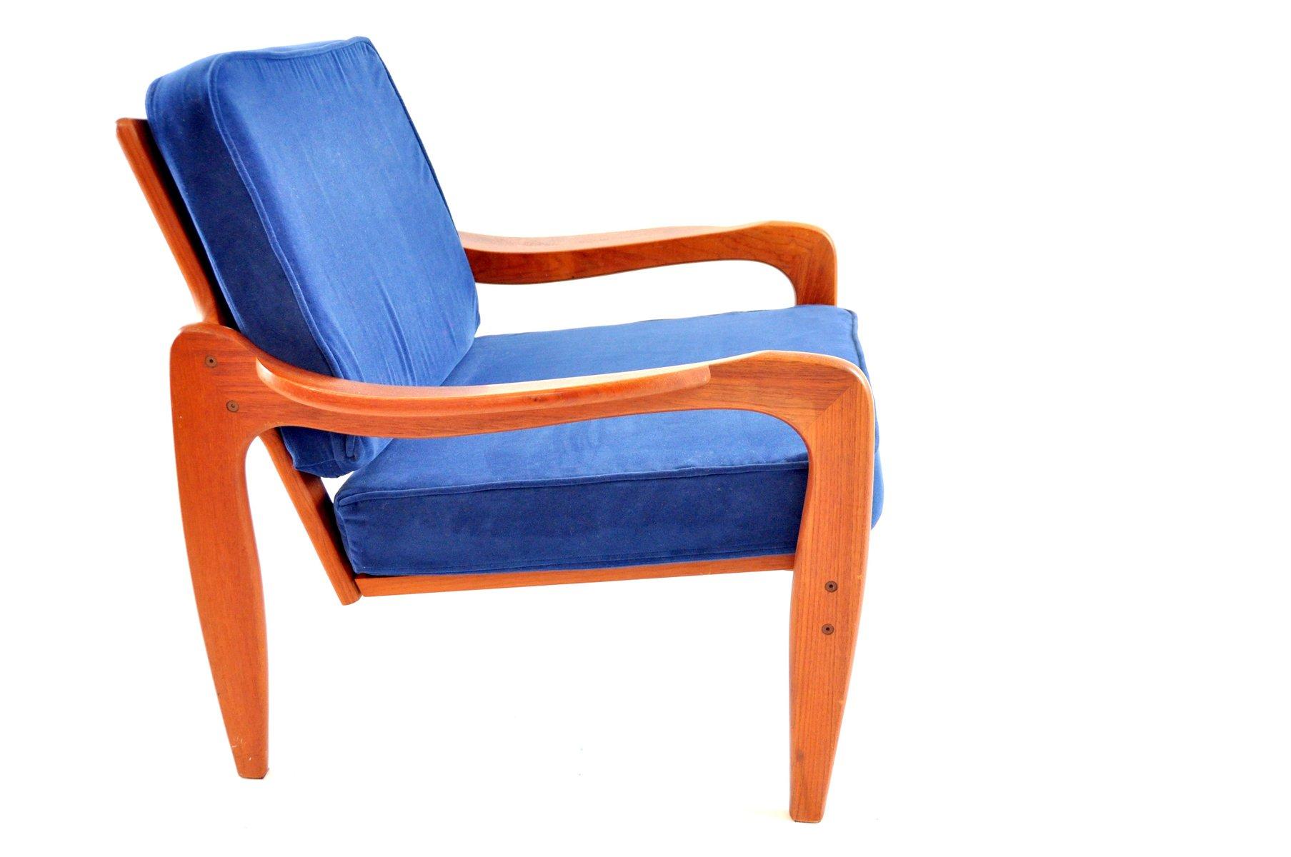 d nischer vintage teak sessel von komfort bei pamono kaufen. Black Bedroom Furniture Sets. Home Design Ideas