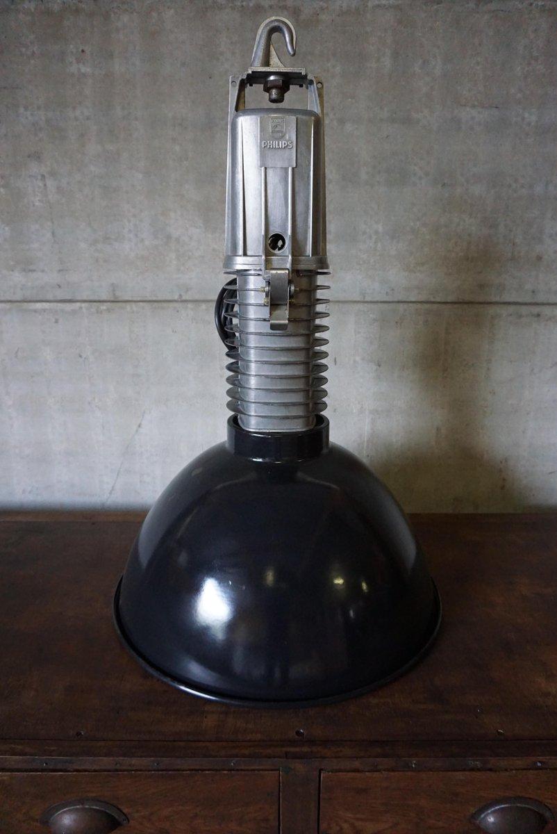 lampe suspension industrielle large par philips en vente sur pamono. Black Bedroom Furniture Sets. Home Design Ideas