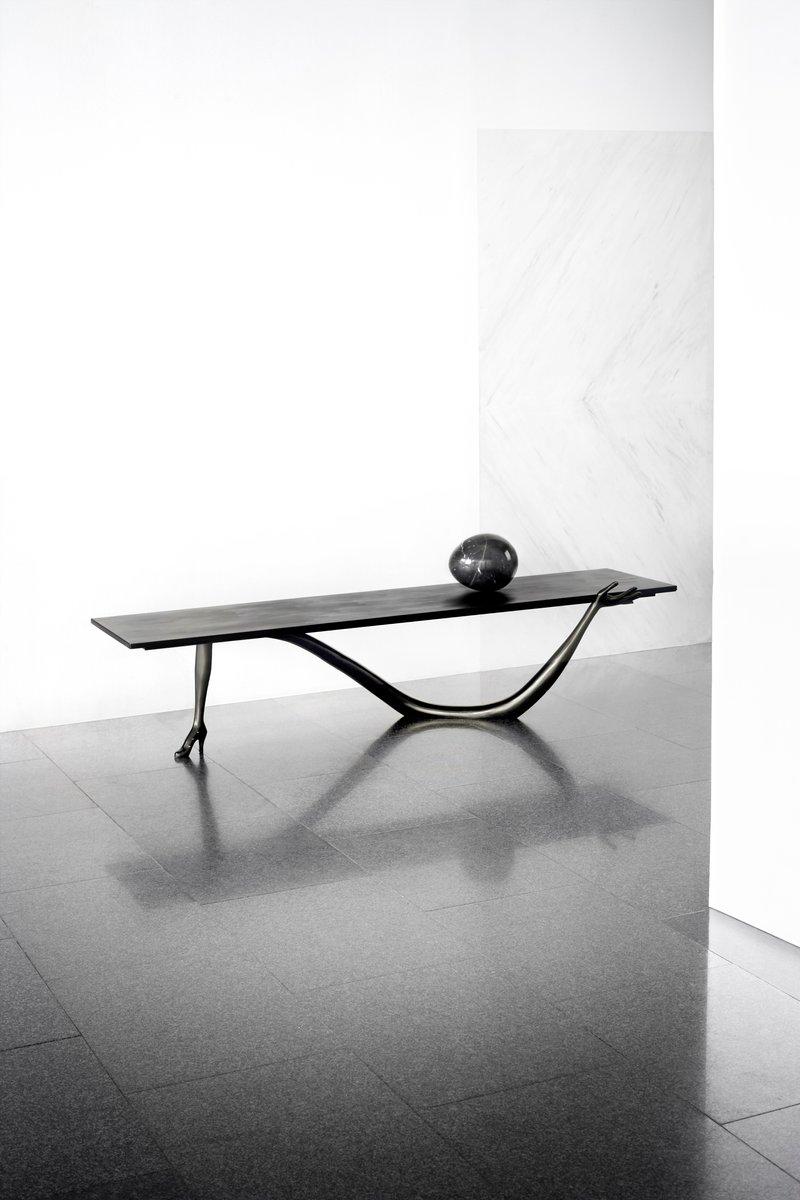 Niedriger Dalí Leda Skulptur Tisch aus der Black Label Limitierten Edi...