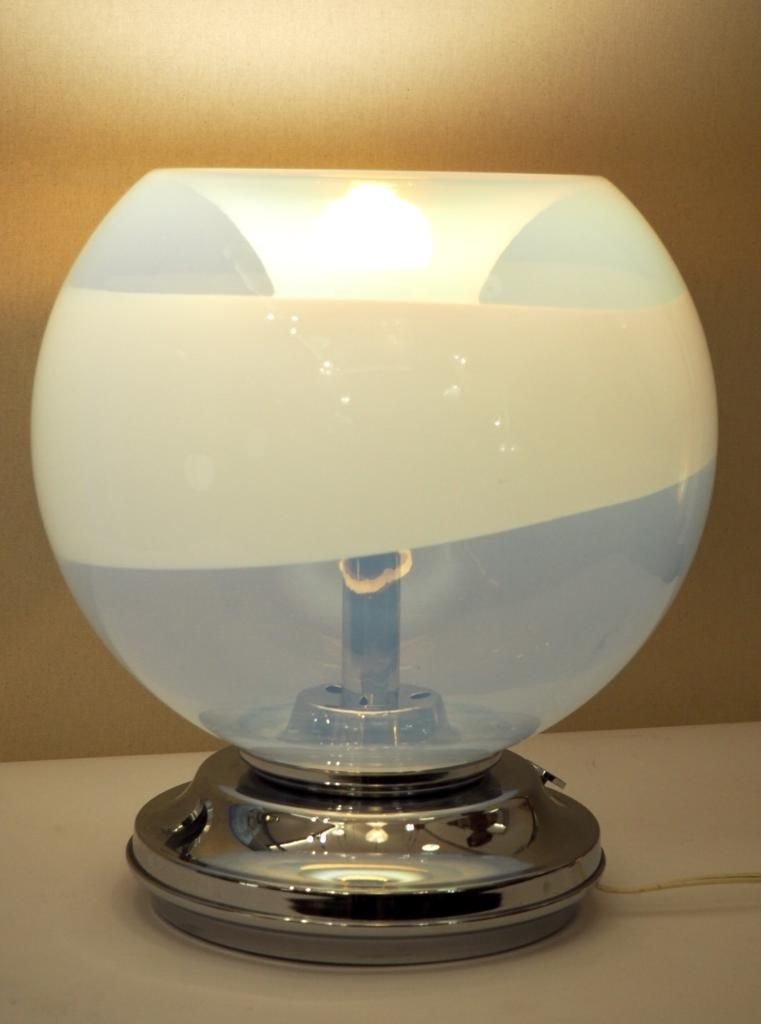 Space Age Table Lamp By Carlo Nason For Mazzega 1960s For Sale At Pamono
