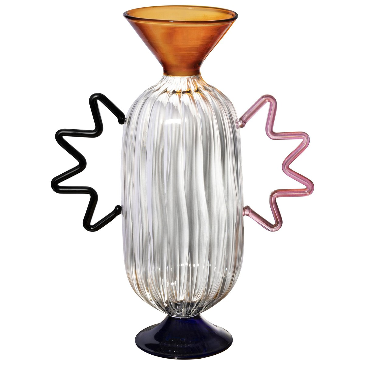 Arabesque Glass Vase By Serena Confalonieri For Sale At Pamono