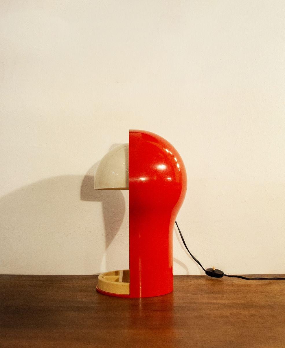 Lampada Da Tavolo Telegono Di Vico Magistretti Per Artemide 1969 In Vendita Su Pamono