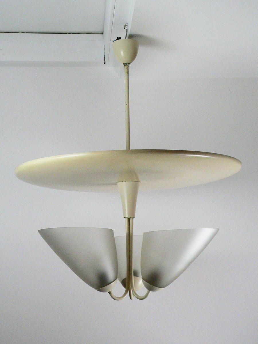 Midcentury Hängelampe von Ruser & Nowak, 1950er
