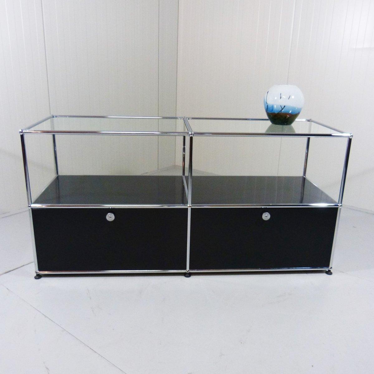modulares sideboard system von fritz haller f r usm haller bei pamono kaufen. Black Bedroom Furniture Sets. Home Design Ideas