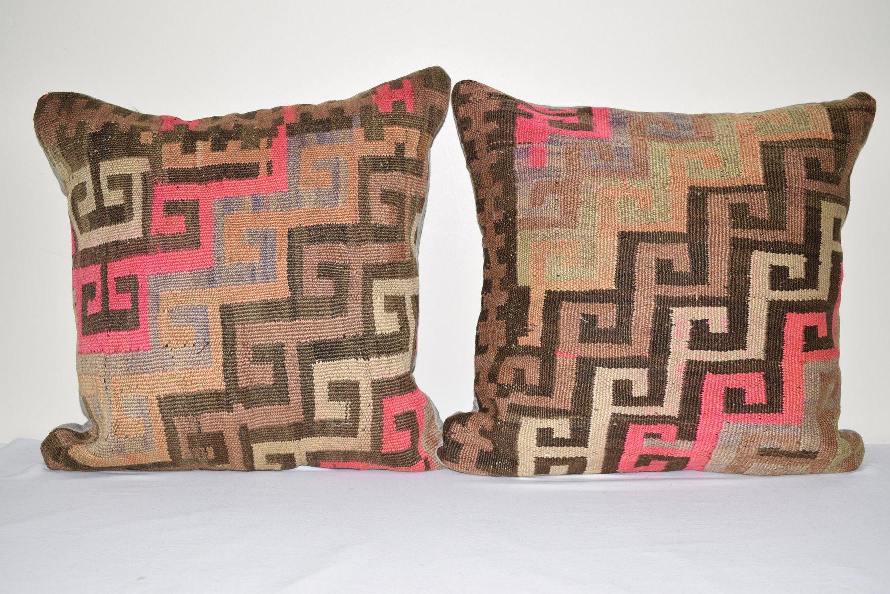 20x20 inc 50x50 cm vintage pillow rug pillow turkish rug turkish kilim kilim pillow kilim rug handmade pillow antique pillow