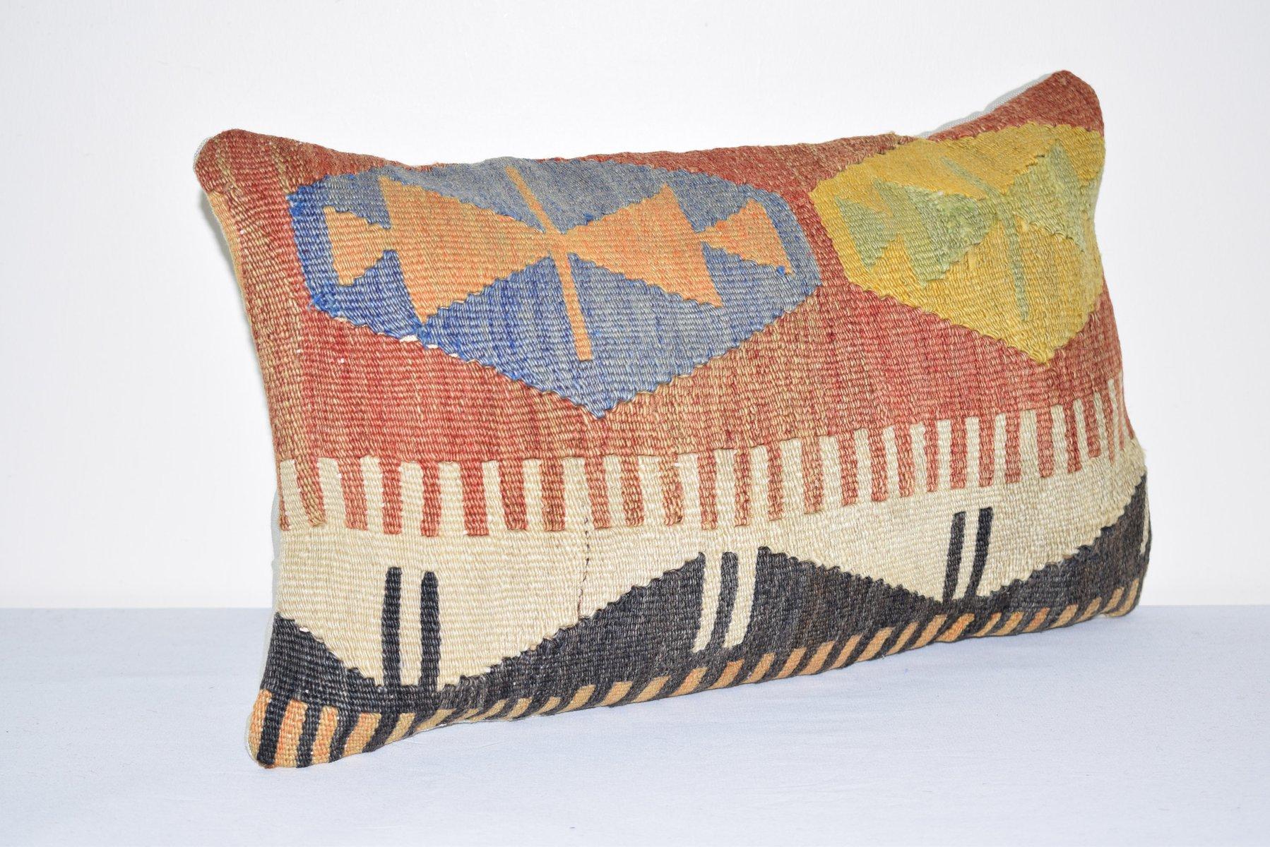 20X20 Decorative Vintage Kilim Pillow Cover
