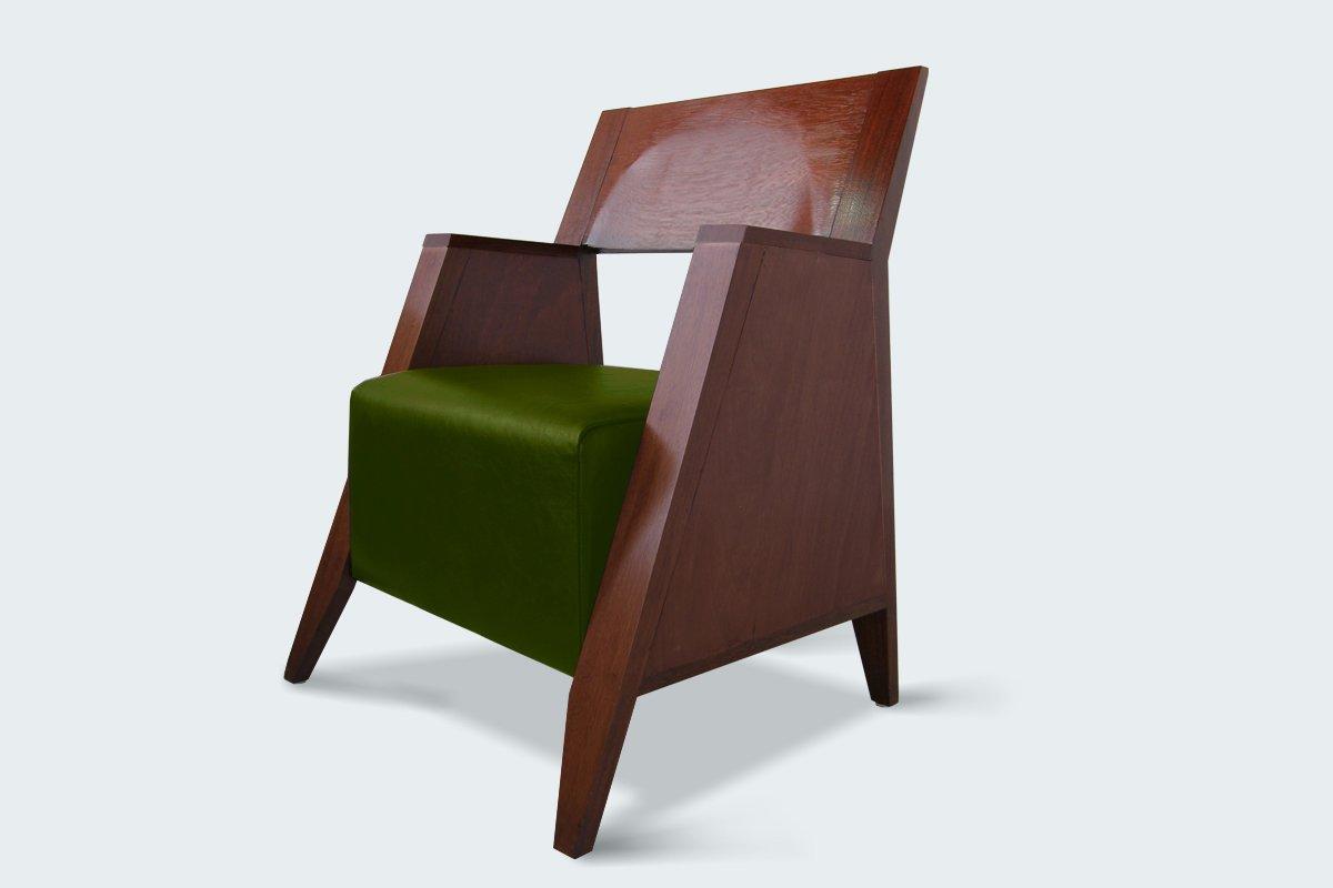 Retro Armchair By Luis Ramírez