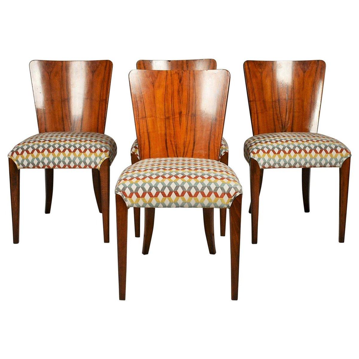 Halabala dining chairs