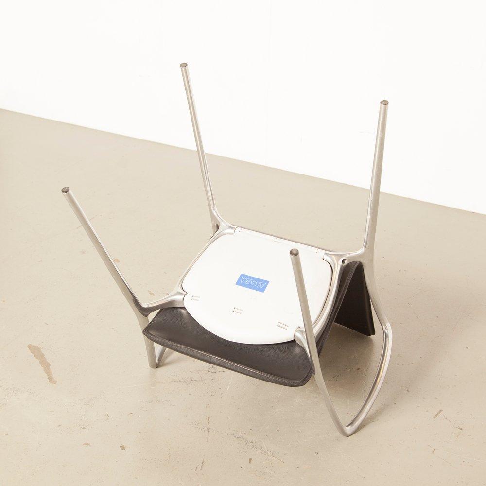 Schwarzer Gorka Stuhl Von Jorge Pensi Für Akaba 2000er