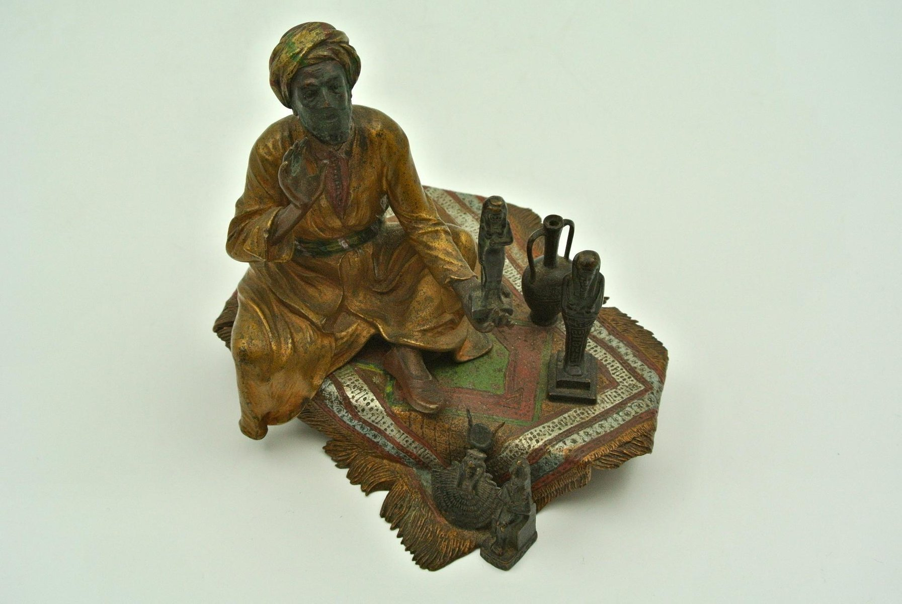Souvenir of Egypt Vintage Inkwell