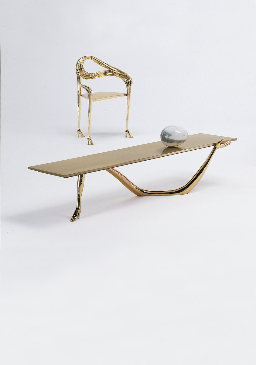 Dalí Leda Low Table-Skulptur von BD Barcelona