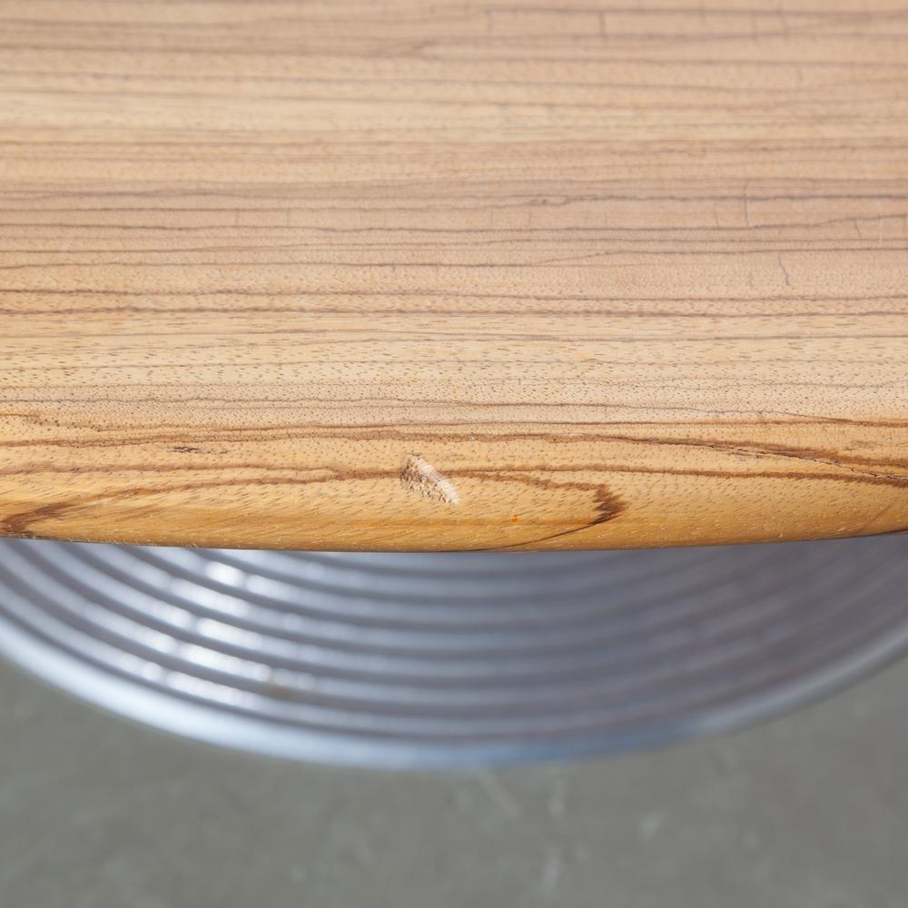 Wedge Zebrano Gloss Coffee Table
