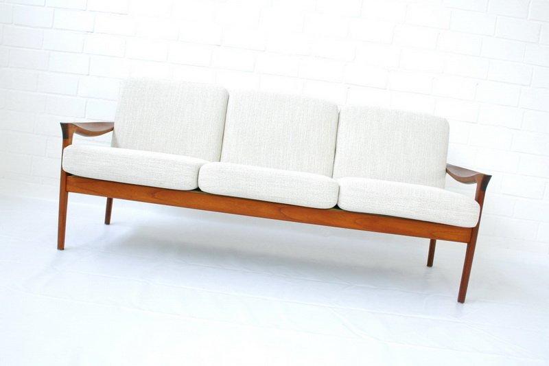 Danish Teak Sofa By Niels Eilersen 1960s