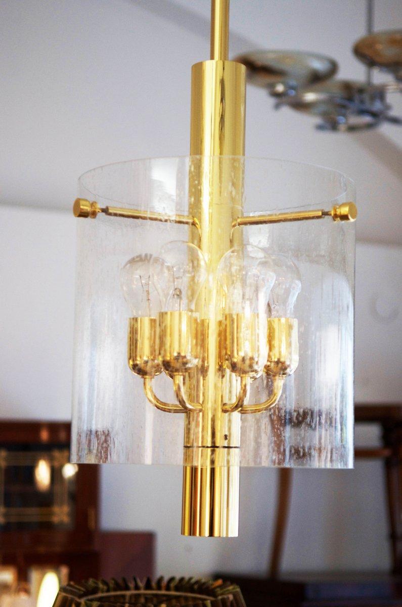 Modell 4298 Hängelampe von Glashütte Limburg