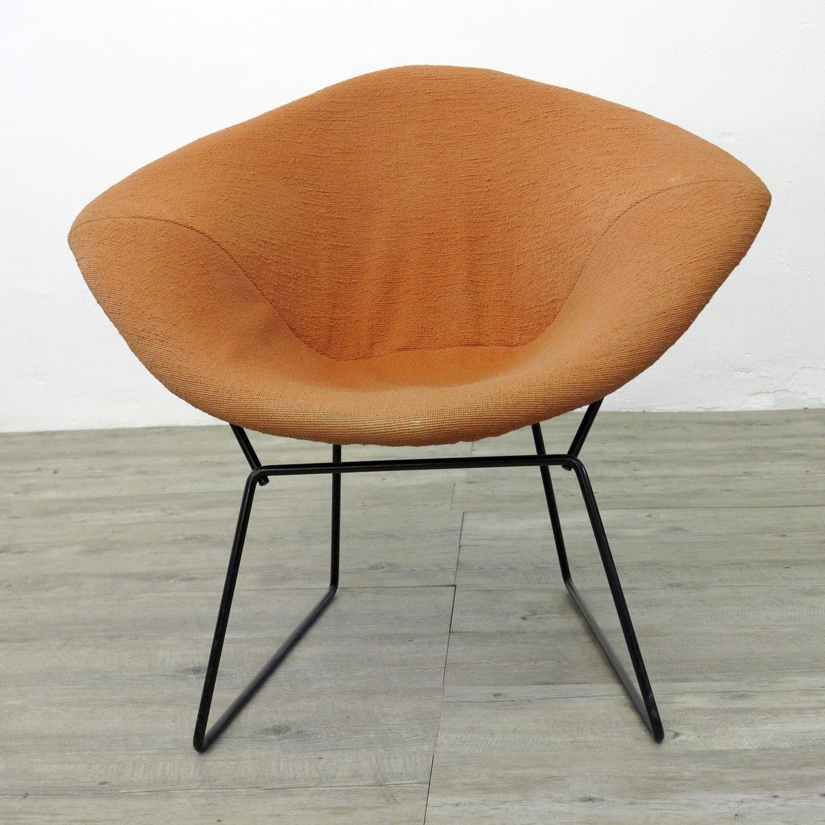 chaise diamond par harry bertoia pour knoll 1970s en vente sur pamono. Black Bedroom Furniture Sets. Home Design Ideas