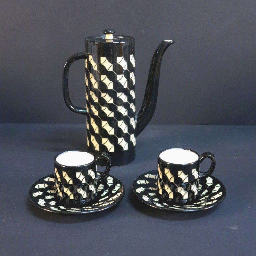 keramik teeservice von hedwig bollhagen 1950s bei pamono kaufen. Black Bedroom Furniture Sets. Home Design Ideas