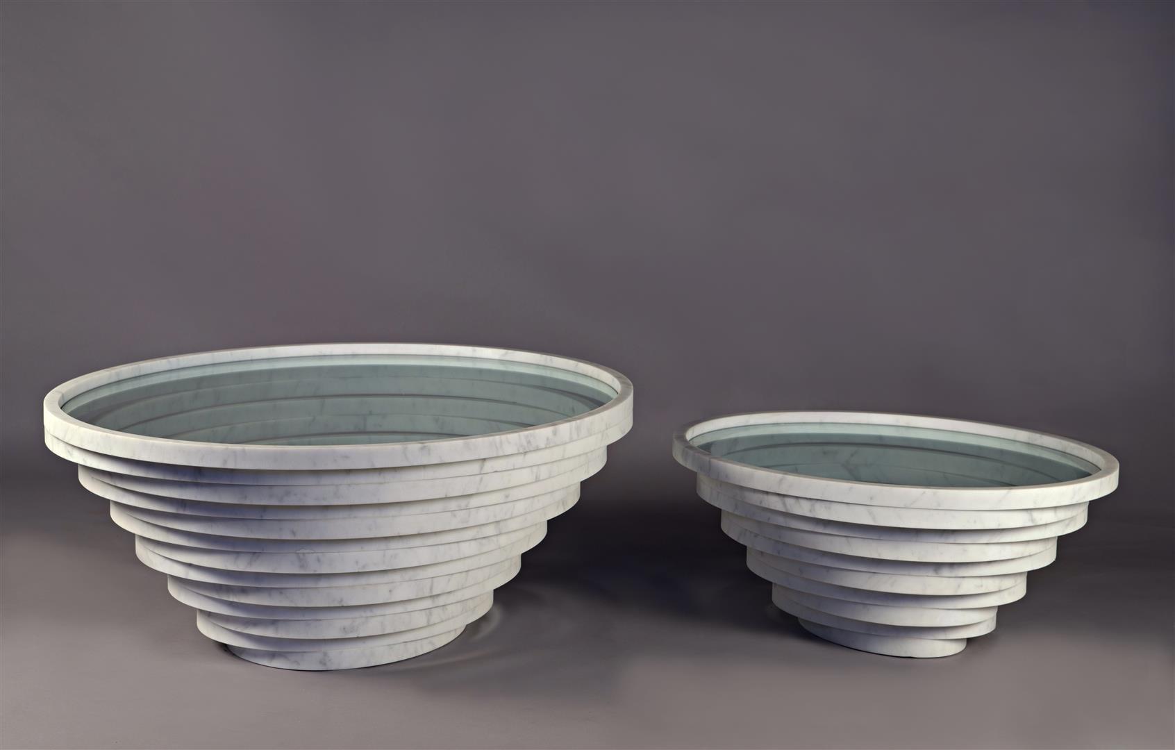 Kleiner Gomitolo Tisch von Paolo Ulian für Bufalini Marmi