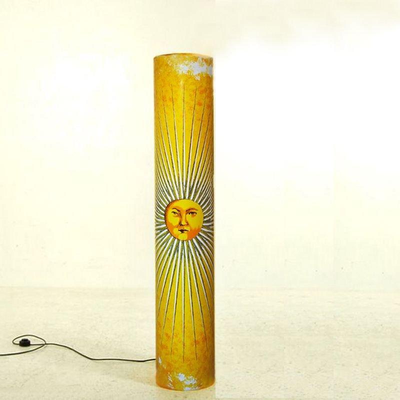 Lampada Da Terra Sun Di Atelier Fornasetti Per Antonangeli Illuminazioni Italia Anni 90 In Vendita Su Pamono