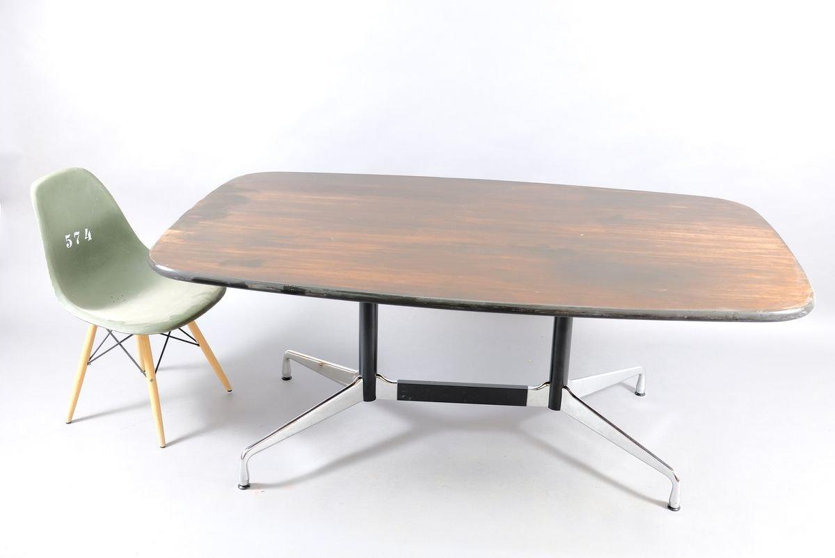 Tavolo Da Conferenza Mid Century Con Forma Sferica Di Charles Ray Eames Per Vitra Anni 60 In Vendita Su Pamono