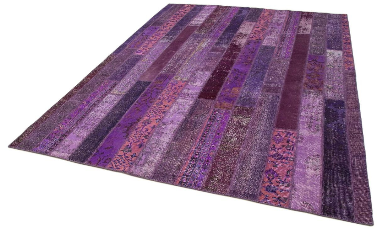 Modern Purple Patchwork Rug For Sale At Pamono