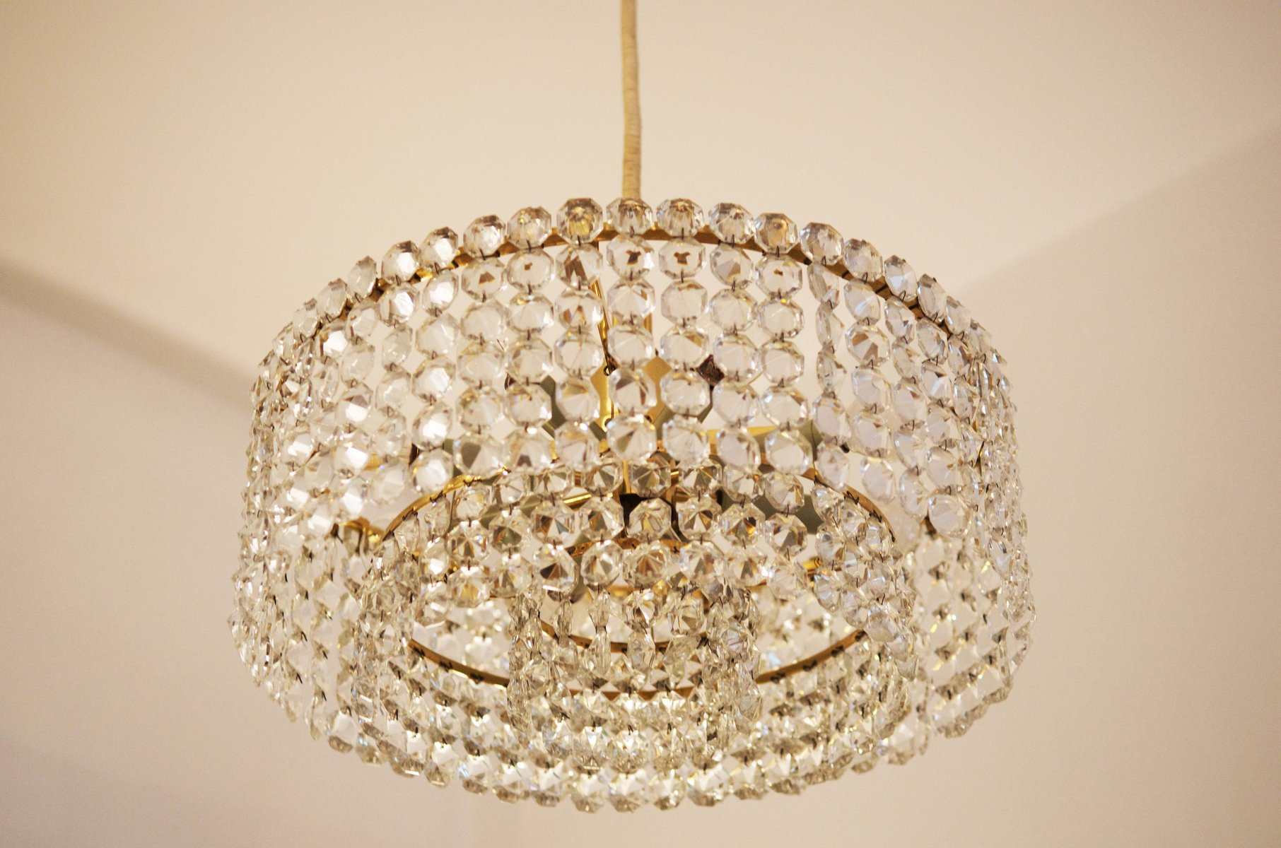Crystal chandelier by jl lobmeyr for sale at pamono crystal chandelier by jl lobmeyr aloadofball Image collections