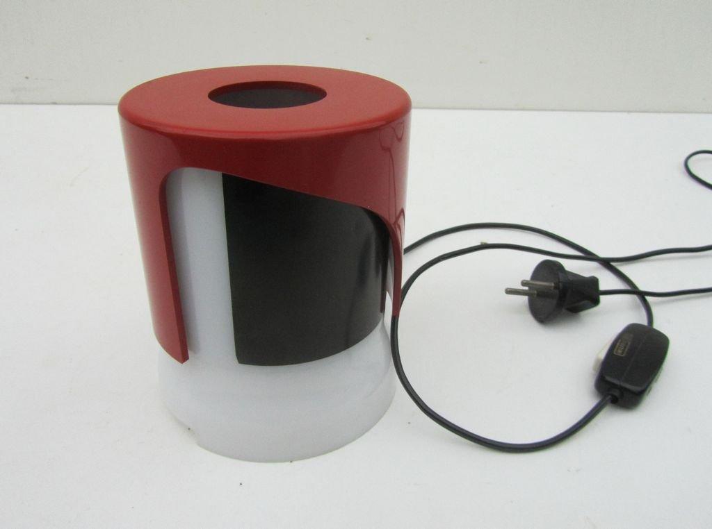 lampe de bureau kd 24 en plastique par joe colombo pour kartell 1966 en vente sur pamono. Black Bedroom Furniture Sets. Home Design Ideas