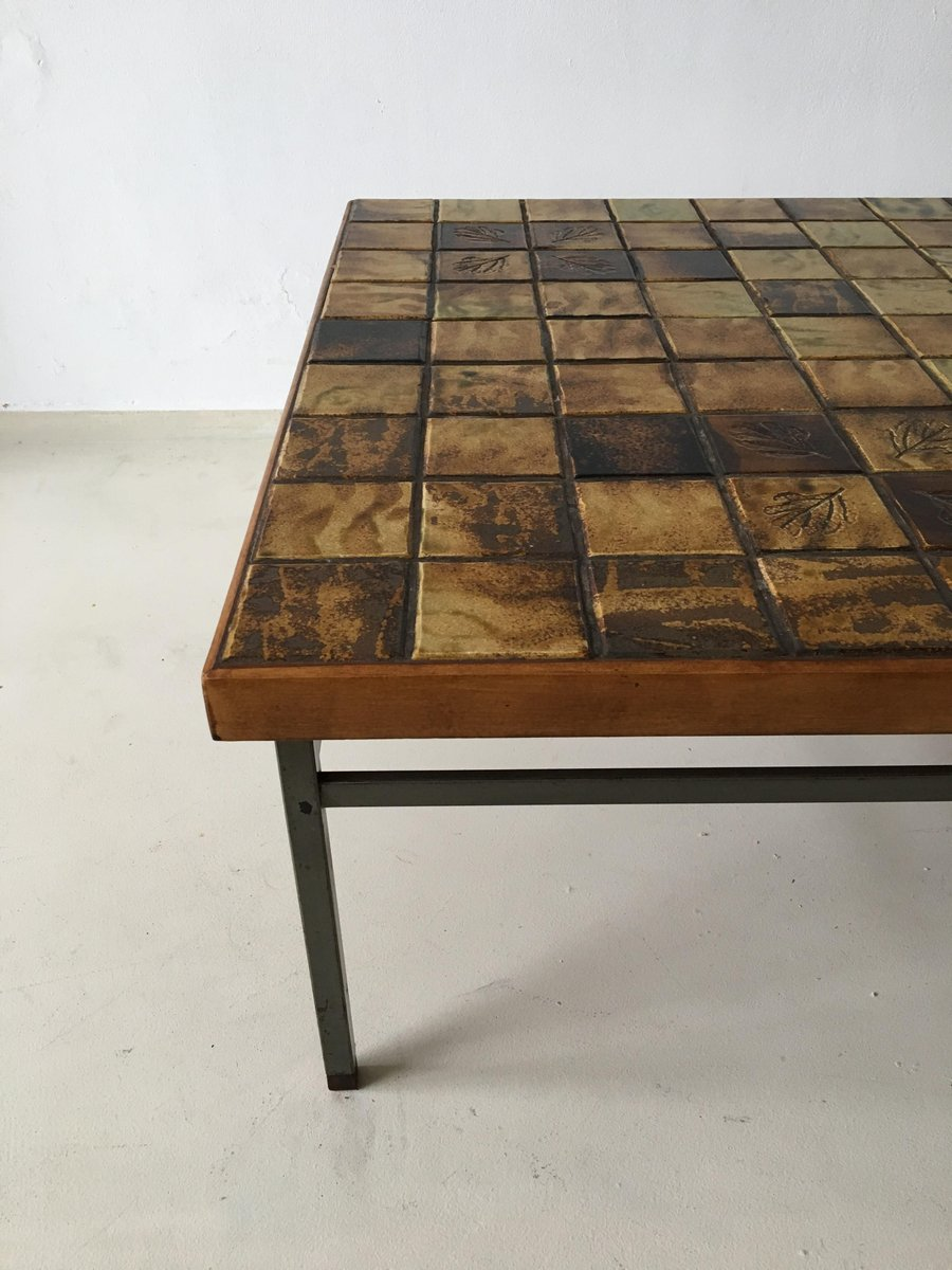 Vintage Mosaic Coffee Table By Webe 1960s 9 Price 1 213 00 Regular 391