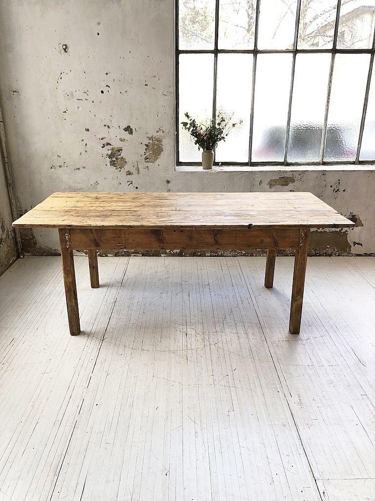 Table de Ferme en Pin, 12s