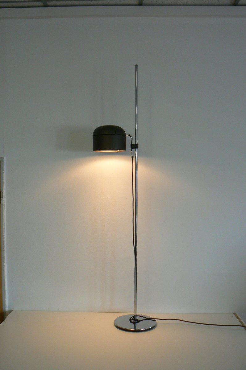 Vintage Verchromte Modell 1167 Stehlampe von Staff, 1970er