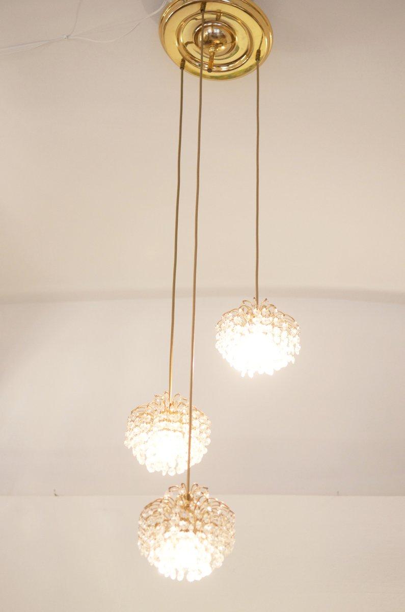 lustre en cristal taill autriche en vente sur pamono. Black Bedroom Furniture Sets. Home Design Ideas
