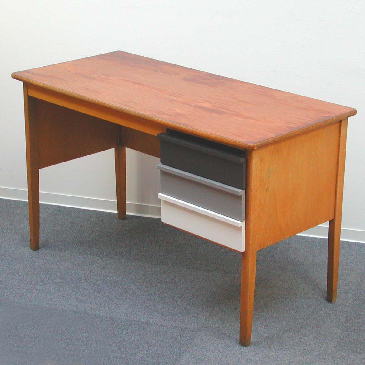 vintage wooden teacher s desk 1960s for sale at pamono rh pamono eu vintage wood desk organizer vintage wood desk chair replacement parts