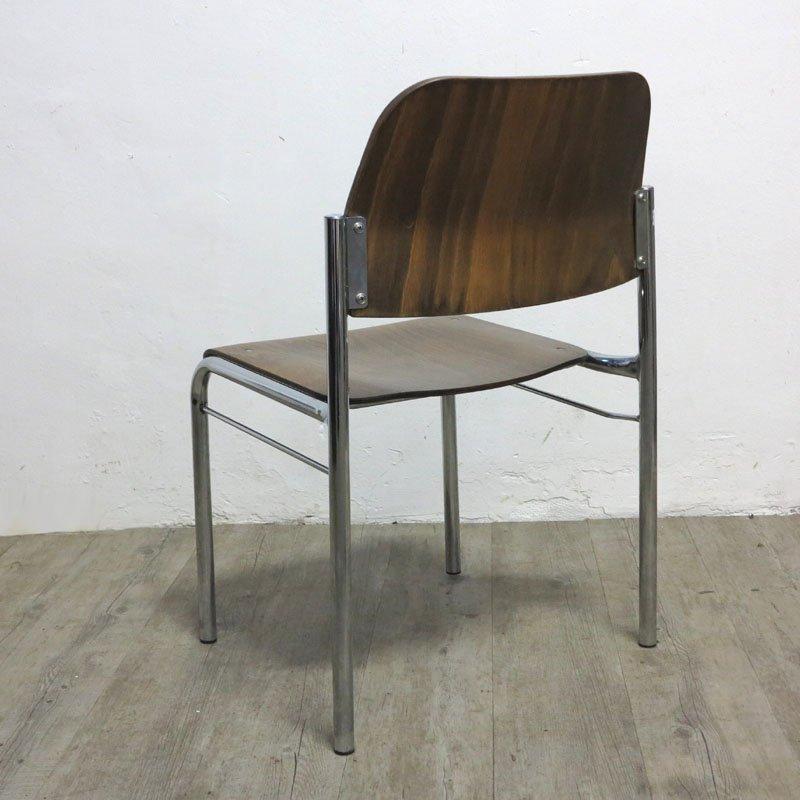 chaise empilable vintage scandinave en vente sur pamono. Black Bedroom Furniture Sets. Home Design Ideas