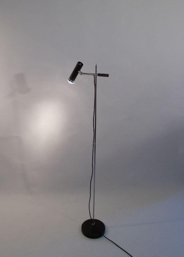 Deutsche Vintage Metall Stehlampe